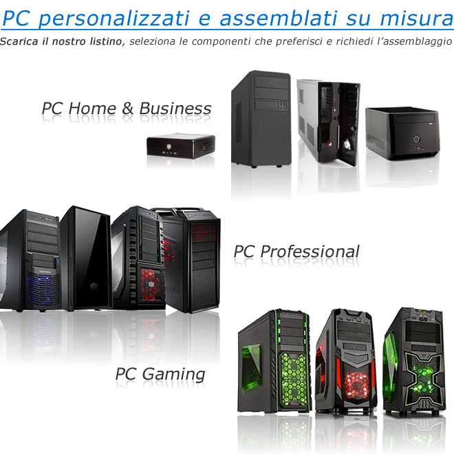 PC Desktop Assemblati Listino Prezzi